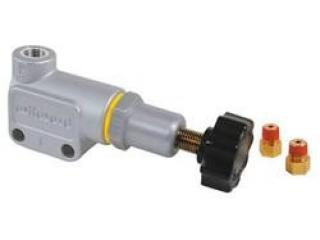 Bromskrafts reducering. Ställbar. 1/8-27 (m adapter till 3/8-24)