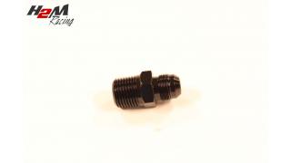AN8-1/2NPT adapter Svart