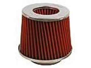 H2M Rött dubbelkonat bomulls filter 76mm