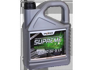 #390 1L Supreme Moly Gear  80W-140 GL-5 / GL-6