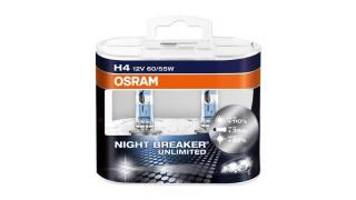 H4 55/65W Osram Night Breaker Unlimited 12V