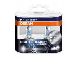 H4 55/65W Osram Night Breaker Unlimited 12V