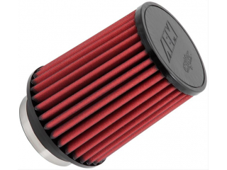 AEM Luftfilter Dryflow = utan filterolja. Längd 178mm anslutning 100mm