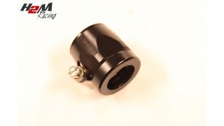 AN16 / 31mm Slangklämma Aluminium Svart
