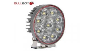 LED-arbetsljus Bullboy 54W (Rund)