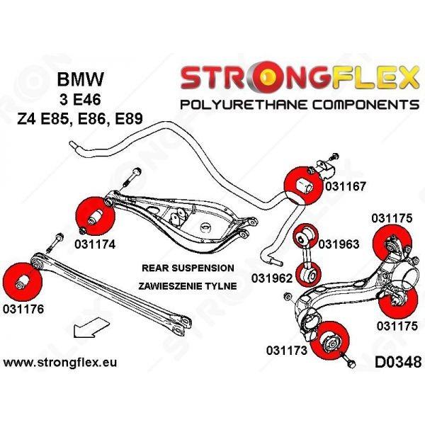 Full suspension bush kit SPORT E46